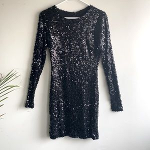 French Connection sequin minidress